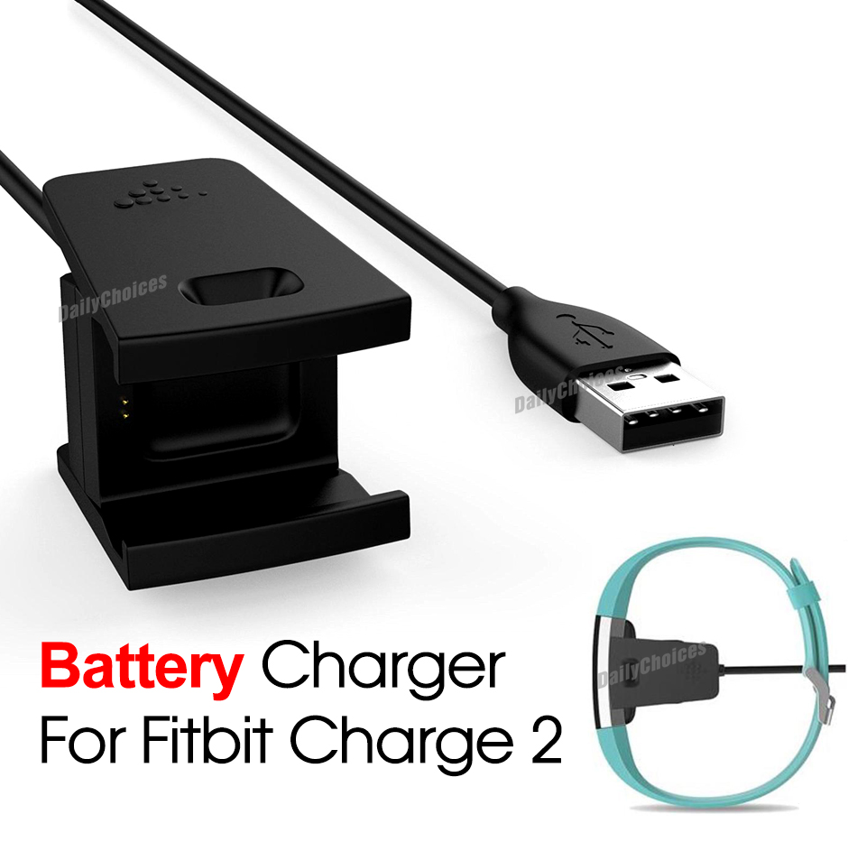 For Fitbit Charge 2 Replacement Battery Charger Watch Clip